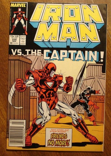 The Invincible Iron Man #228 comic book - Marvel Comics