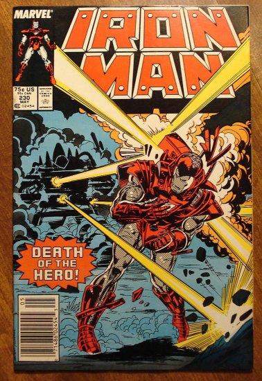 The Invincible Iron Man #230 comic book - Marvel Comics