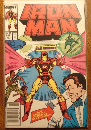 The Invincible Iron Man #235 comic book - Marvel Comics
