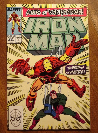 The Invincible Iron Man #251 comic book - Marvel Comics