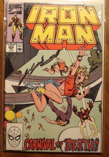 The Invincible Iron Man #253 comic book - Marvel Comics