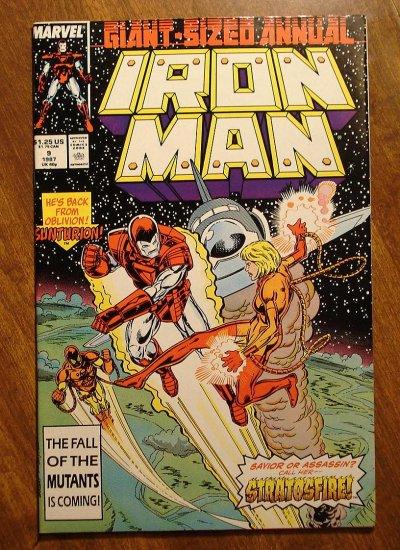 The Invincible Iron Man Annual #9 comic book - Marvel Comics