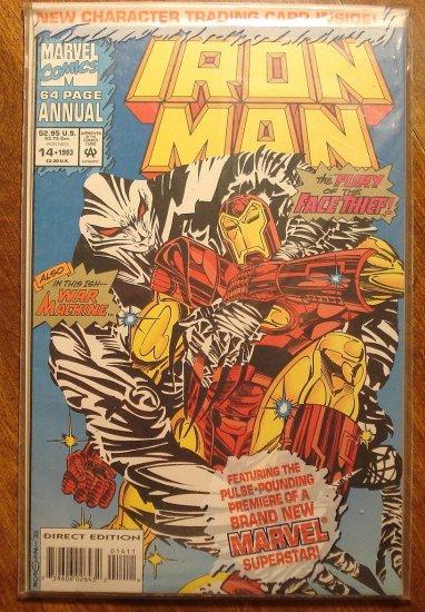 The Invincible Iron Man Annual #14 comic book - Marvel Comics