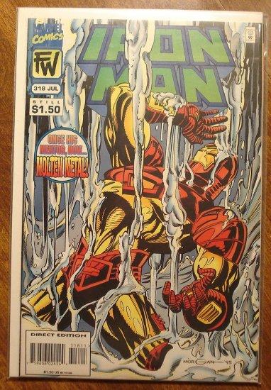 The Invincible Iron Man #318 comic book - Marvel Comics