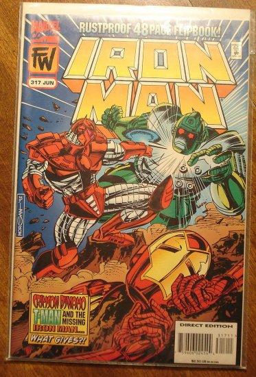 The Invincible Iron Man #317 comic book - Marvel Comics
