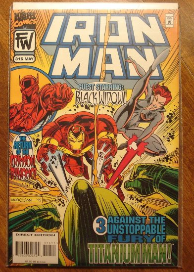 The Invincible Iron Man #316 comic book - Marvel Comics