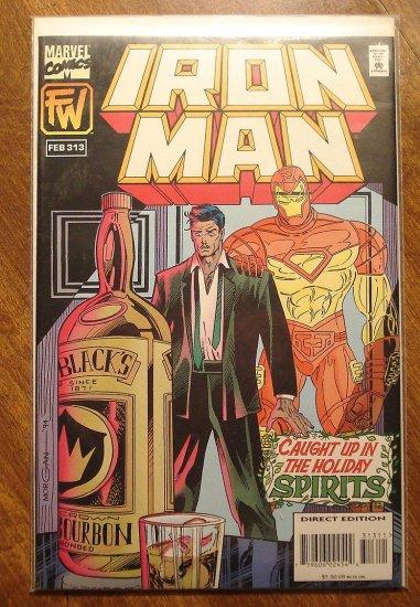 The Invincible Iron Man #313 comic book - Marvel Comics