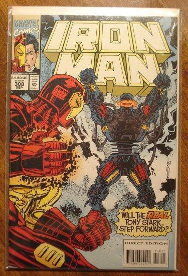 The Invincible Iron Man #308 comic book - Marvel Comics