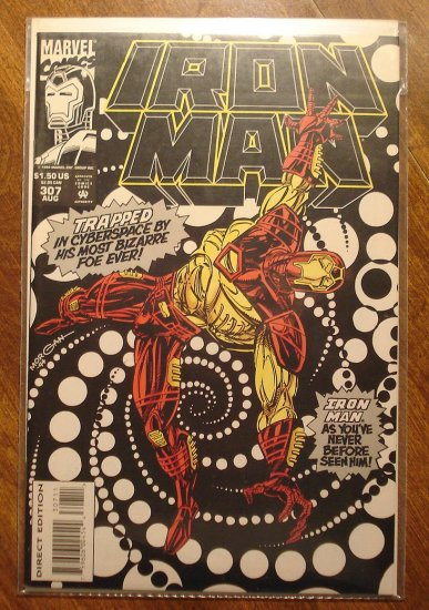 The Invincible Iron Man #307 comic book - Marvel Comics