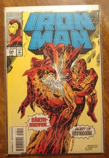 The Invincible Iron Man #298 comic book - Marvel Comics