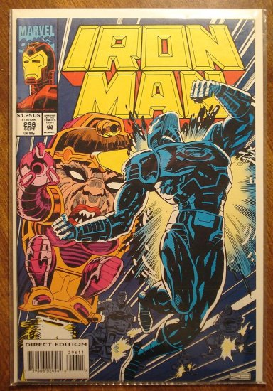 The Invincible Iron Man #296 comic book - Marvel Comics