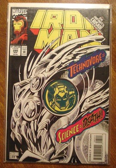 The Invincible Iron Man #295 comic book - Marvel Comics