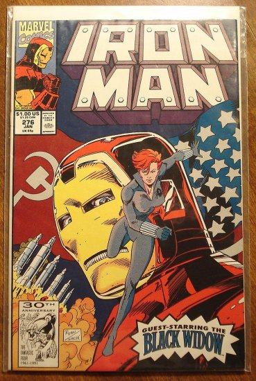 The Invincible Iron Man #276 comic book - Marvel Comics