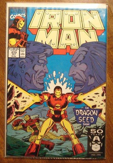 The Invincible Iron Man #273 comic book - Marvel Comics