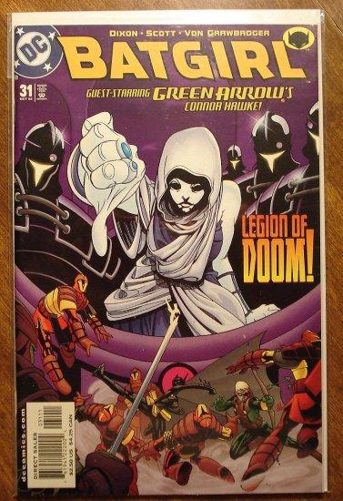 Batgirl #31 comic book - DC Comics