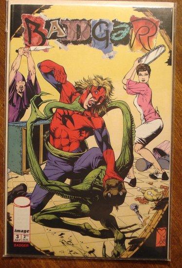Badger #3 comic book - Image Comics