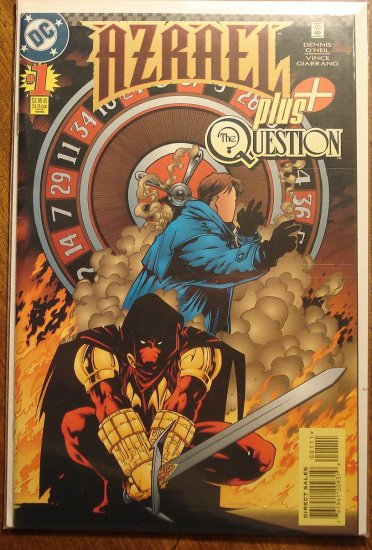 Azrael Plus The Question #1 comic book - DC Comics