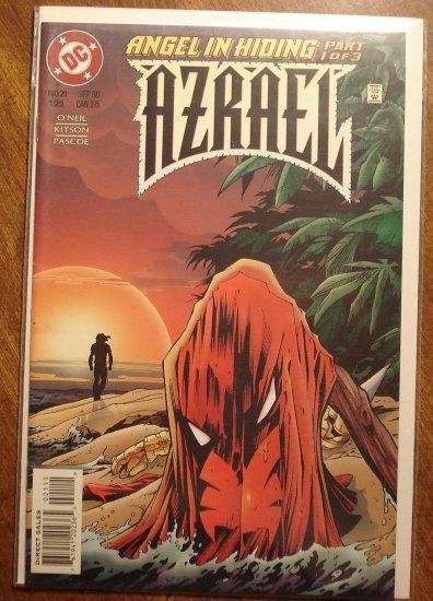 Azrael #21 comic book - DC Comics