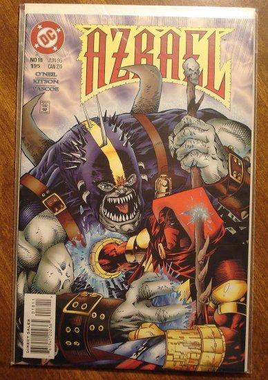 Azrael #18 comic book - DC Comics