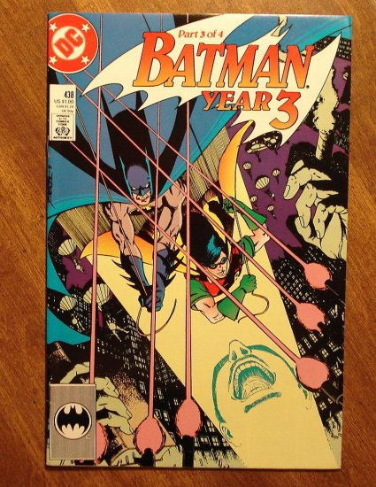 Batman #438 comic book - DC Comics