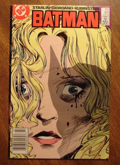 Batman #421 comic book - DC Comics