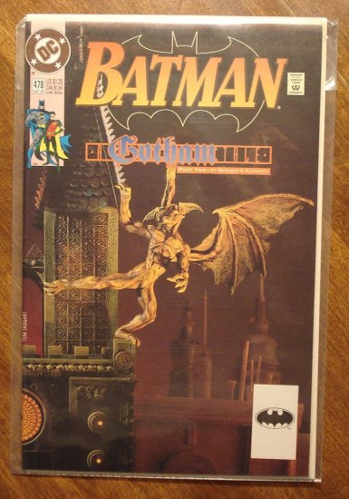 Batman #478 comic book - DC Comics