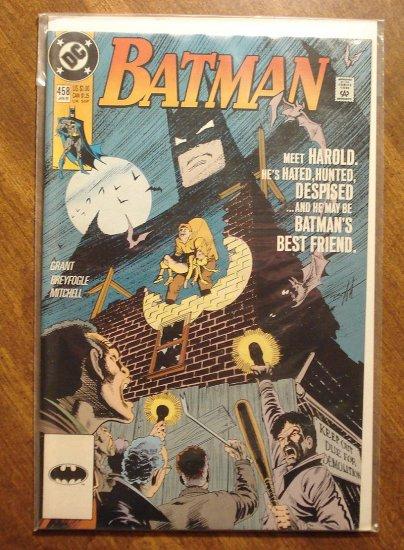 Batman #458 comic book - DC Comics