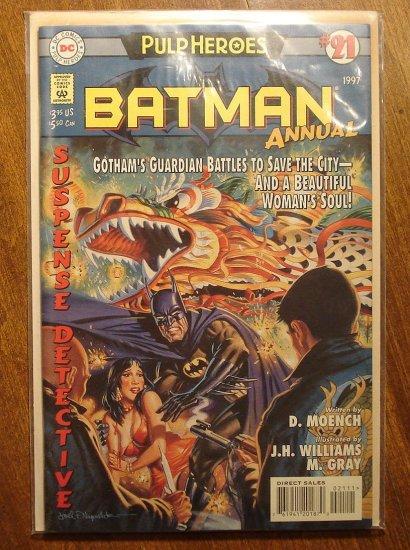 Batman Annual #21 comic book - DC Comics