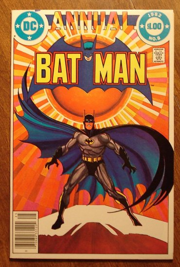 Batman Annual #8 comic book - DC Comics