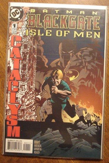 Batman: Blackgate - Isle of Men #1 comic book - DC Comics