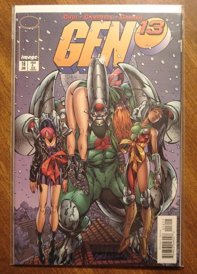 Gen 13 #16 comic book - Image comics, Gen13