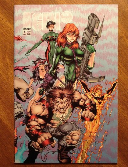 Gen 13 #5 comic book - Image comics, Gen13