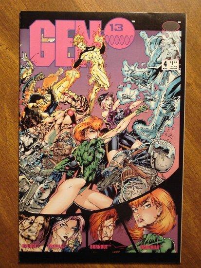 Gen 13 #4 comic book - Image comics, Gen13