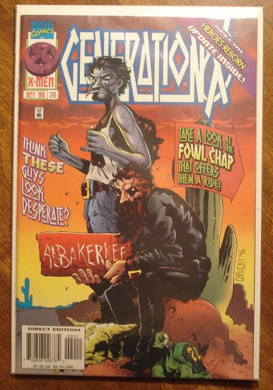 Generation X #20 comic book - Marvel comics