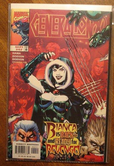 Generation X #42 comic book - Marvel comics