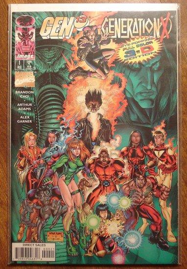 Gen 13 & Generation X #1 (cover A) comic book - Image & Marvel comics, Gen13