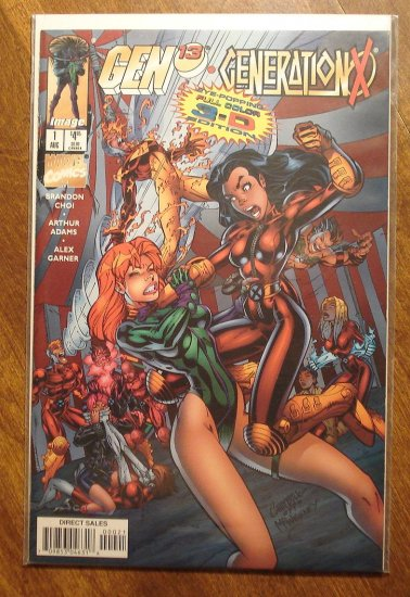 Gen 13 & Generation X #1 (cover B) comic book - Image & Marvel comics, Gen13