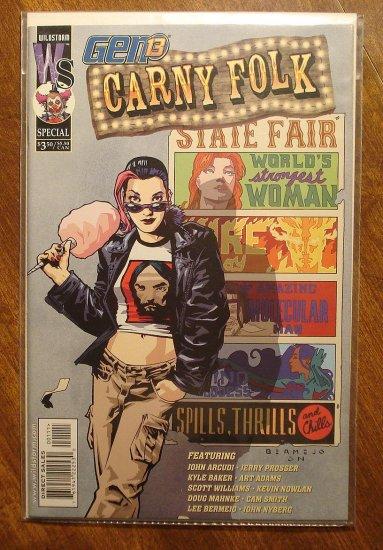 Gen 13: Carny Folk comic book - Image comics, Gen13