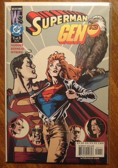 Gen 13 & Superman #1 comic book - Image & DC comics, Gen13