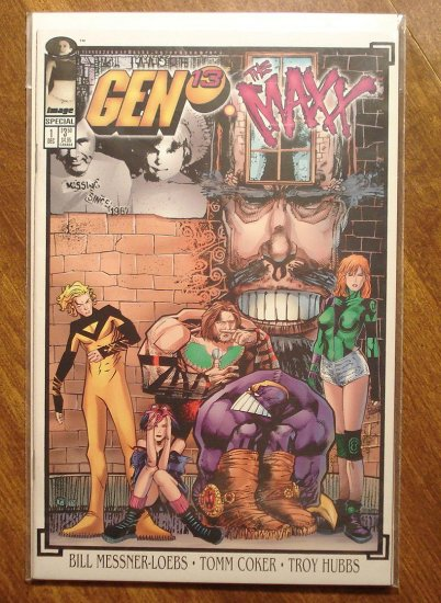 Gen 13 & The Maxx #1 comic book - Image comics, Gen13