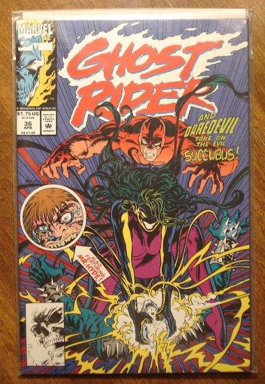 Ghost Rider #36 comic book - Marvel comics - w/ daredevil