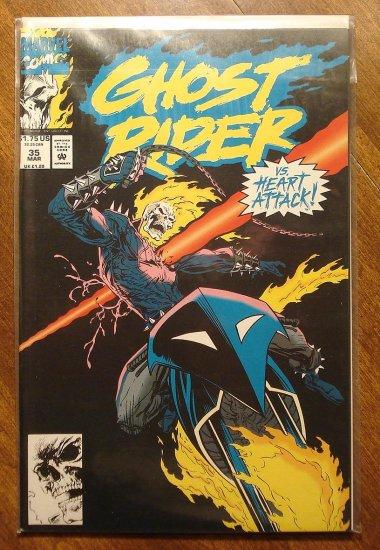 Ghost Rider #35 comic book - Marvel comics