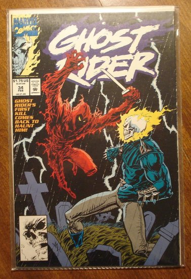 Ghost Rider #34 comic book - Marvel comics