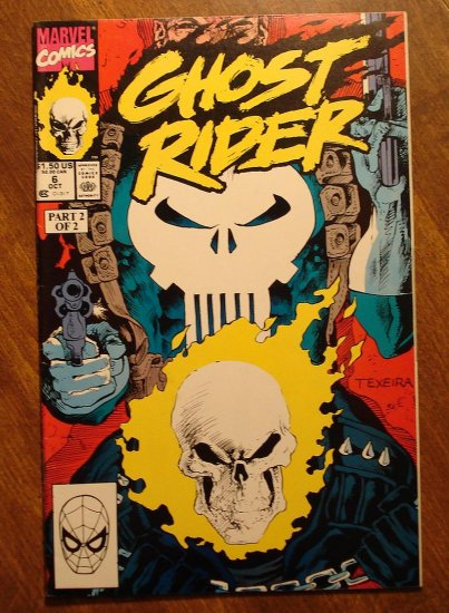 Ghost Rider #6 comic book - Marvel comics - w/ The Punisher