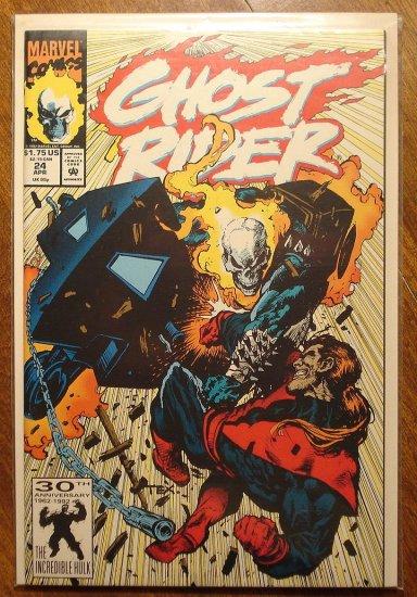 Ghost Rider #24 comic book - Marvel comics