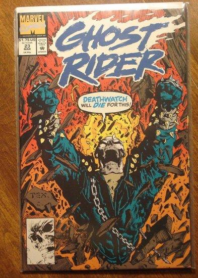 Ghost Rider #23 comic book - Marvel comics