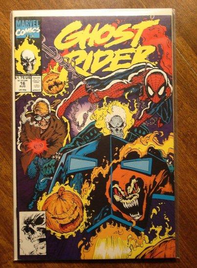 Ghost Rider #16 comic book - Marvel comics - w/ Spider-Man!