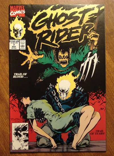 Ghost Rider #7 comic book - Marvel comics - w/ Spider-Man!