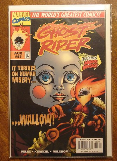 Ghost Rider #87 comic book - Marvel comics