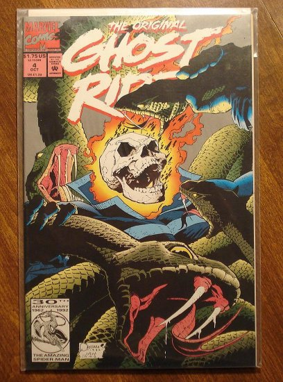The original Ghost Rider #4 comic book - Marvel comics